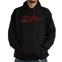 Will You Marry Me Hoodie (dark)