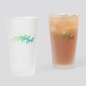 Extended Trot Greens Drinking Glass
