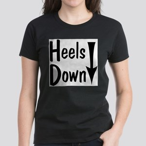 Heels Down! Arrow Women's Dark T-Shirt