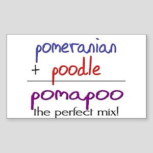 Pomapoo PERFECT MIX Sticker (Rectangle)