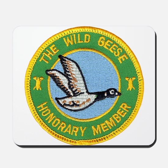 Honorary Wild Geese Mousepad