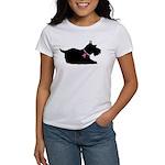 Schnauzer Silhouette Women's T-Shirt