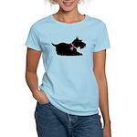 Schnauzer Silhouette Women's Light T-Shirt