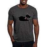 Schnauzer Silhouette Dark T-Shirt