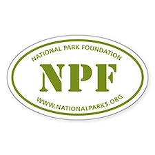 NPF Sticker (Oval)