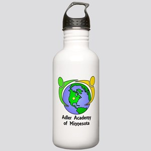 Adler Academy Globe Lo Stainless Water Bottle 1.0L