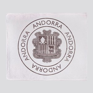 Vintage Andorra Throw Blanket