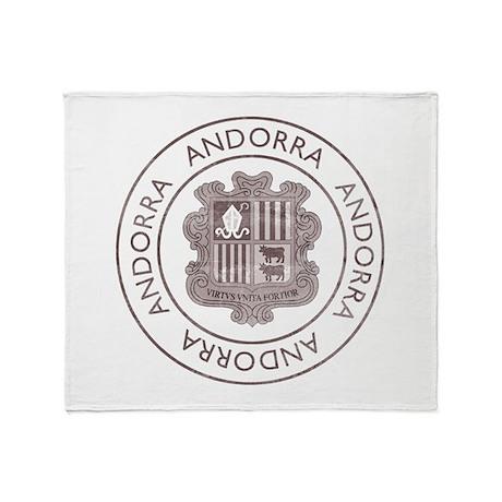 Vintage Andorra Throw Blanket