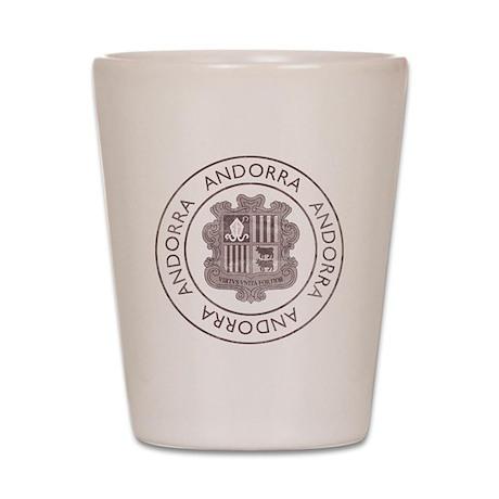 Vintage Andorra Shot Glass