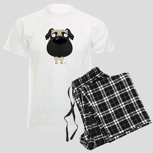 Big Nose Pug Men's Light Pajamas