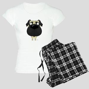 Big Nose Pug Women's Light Pajamas