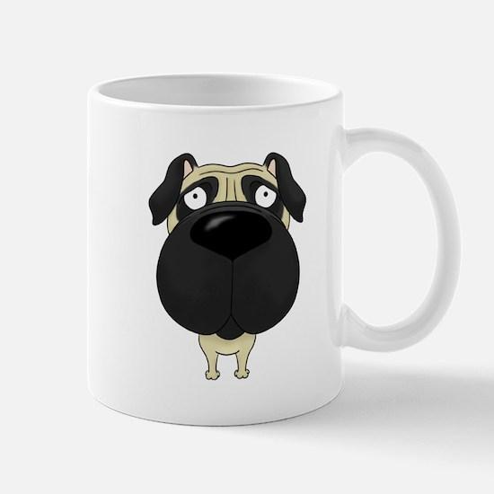 Big Nose Pug Mug