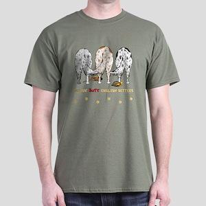 Nothin' Butt English Setters Dark T-Shirt