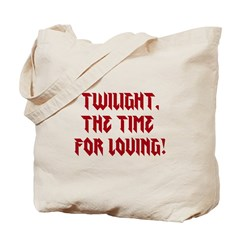 Twilight, the time for loving! Tote Bag