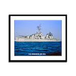 USS MEREDITH Framed Panel Print