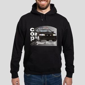 Custom Personalized Cop Hoodie (dark)