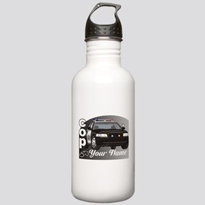 Custom Personalized Cop Stainless Water Bottle 1.0