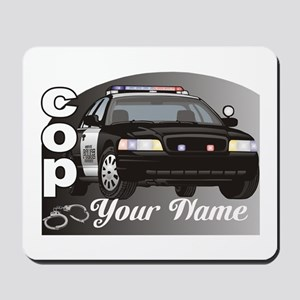 Custom Personalized Cop Mousepad