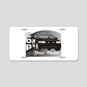 Custom Personalized Cop Aluminum License Plate