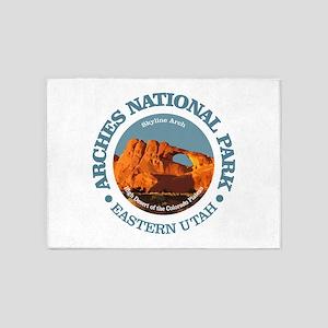 Arches National Park 5'x7'Area Rug