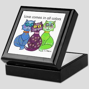 """""""Cat Colors"""" Keepsake Box"""