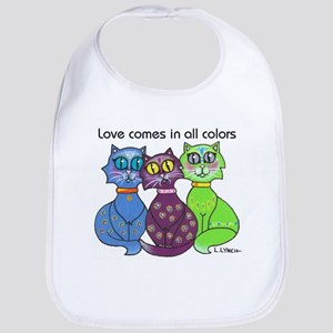 """Cat Colors"" Bib"
