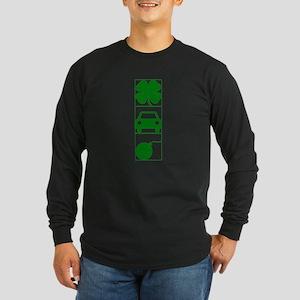 irish car bomb green Long Sleeve T-Shirt