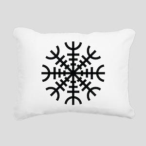 Aegishjalmur Rectangular Canvas Pillow