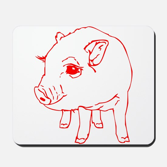 MINI PIG Mousepad