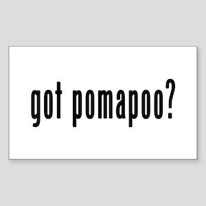 GOT POMAPOO Sticker (Rectangle)