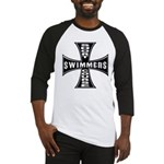 Short Course Swimmers Baseball Jersey