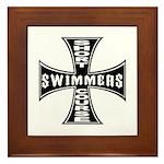 Short Course Swimmers Framed Tile