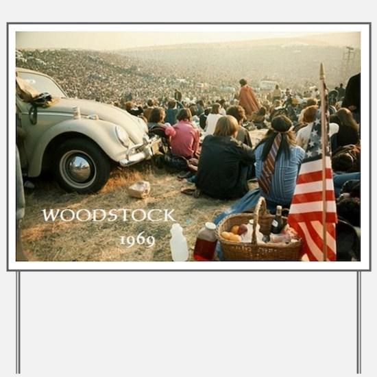 Cute Woodstock Yard Sign