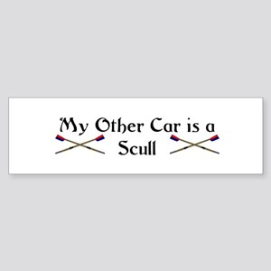 My other Car is a Scull Bumper Sticker