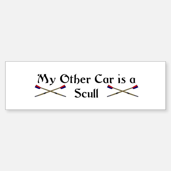 My other Car is a Scull Bumper Bumper Bumper Sticker