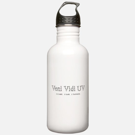 Veni Vidi UV - I Came I Saw I Water Bottle