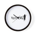 Nighttown Wall Clock