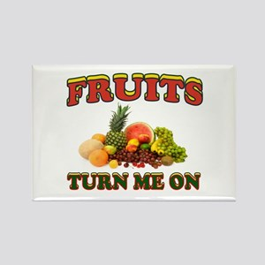 LUV FRUITS Rectangle Magnet