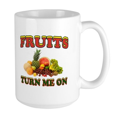 LUV FRUITS Large Mug