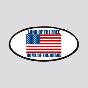 Home of the Brave Patches