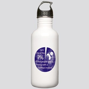 7 Percent Stainless Water Bottle 1.0L