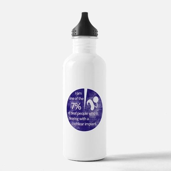 7 Percent Water Bottle