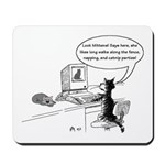 Cats in the Web Mousepad