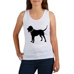 Bloodhound Breast Cancer Support Women's Tank Top