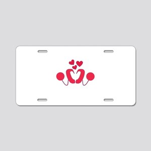 Cochlear Implant Love Aluminum License Plate