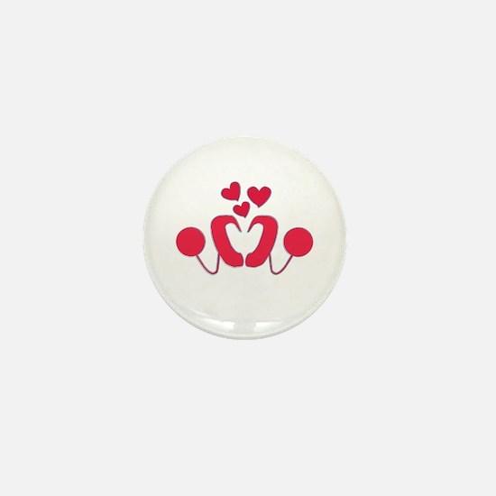 Cochlear Implant Love Mini Button
