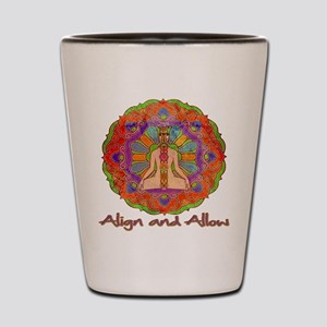 Align and Allow Shot Glass