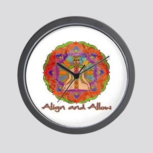 Align and Allow Wall Clock