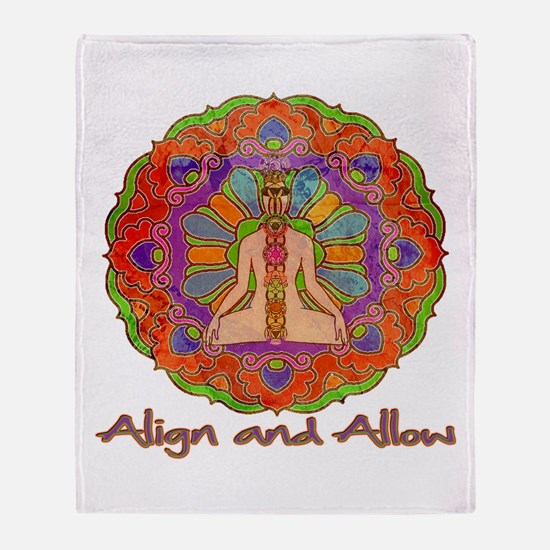 Align and Allow Throw Blanket