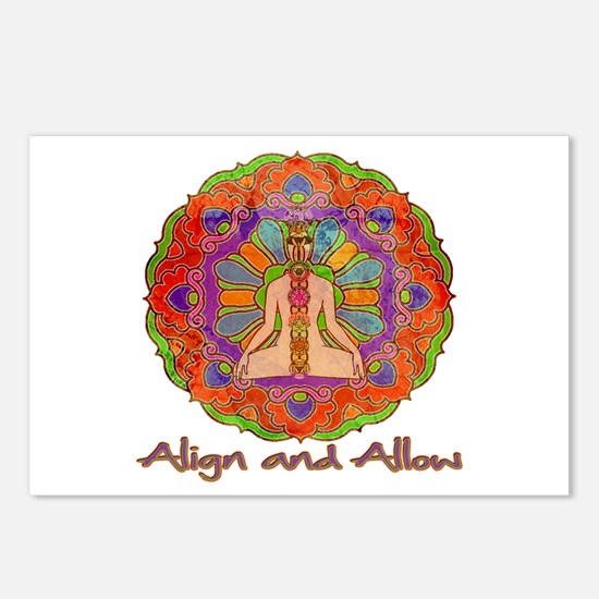 Align and Allow Postcards (Package of 8)